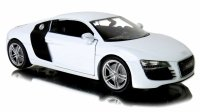 AUDI R8 Auto METALOWY MODEL Welly 1:24