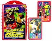 Gra Karciana TURTLES Power Cards RAPHAEL Żółwie Ninja