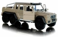 Mercedes Benz G 63 AMG 6x6 Jeep METALOWY Welly 1:34