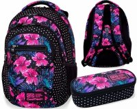CoolPack PLECAK College Tech Blossoms B36102 Saszetka 2w1