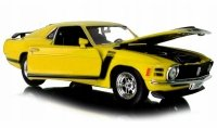 1970 FORD MUSTANG BOSS 302 Auto METALOWY MODEL Welly 1:24