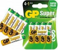 GP SUPER Baterie Alkaliczne LR6 AA 5 Sztuk