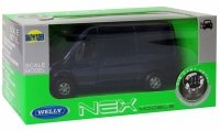 MERCEDES-BENZ SPRINTER PANEL VAN Metalowy MODEL Welly 1:34