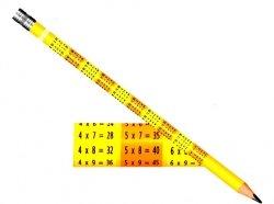 OŁÓWEK z Gumką HB z Tabliczką Mnożenia COLORINO 66143
