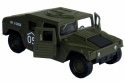 ARMY HUMMER Auto METALOWE Welly 1:34