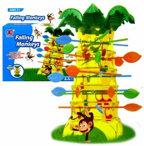 Gra ZRĘCZNOŚCIOWA Skaczące MAŁPKI Spadające