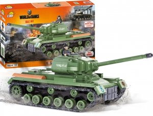 Czołg IS-2  I WORLD OF TANKS 3015 Cobi MAŁA ARMIA