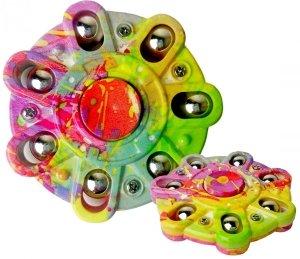Kolorowy HAND SPINNER Tęczowy Fidget Spiner