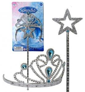 KORONA Zestaw Zimowej Księżniczki RÓŻDŻKA