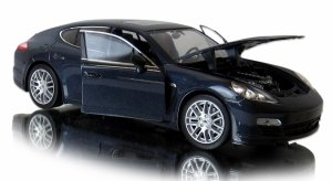 METALOWY MODEL Porsche Panamera S AUTO Welly 1:24