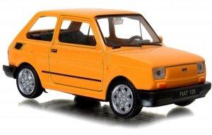 MALUCH Fiat 126p AUTO PRL Welly 1:43 METALOWY Model