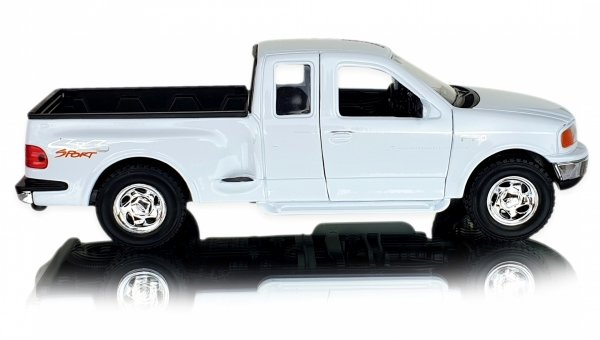 1999 FORD F-150 FLARESIDE PICK UP Auto Metal Welly 1:24