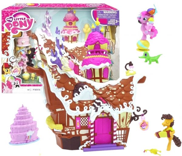 My Little Pony DOMEK Cukrowy Kącik Pinkie CHATKA