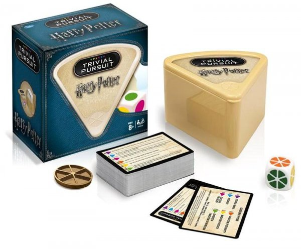 Gra TRIVIAL PURSUIT Harry Potter 600 PYTAŃ QUIZ  PL
