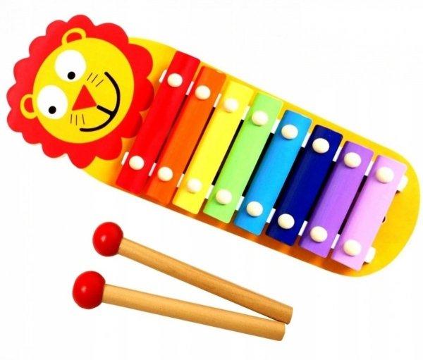 Smily Play CYMBAŁKI Drewniane LEW AC7641