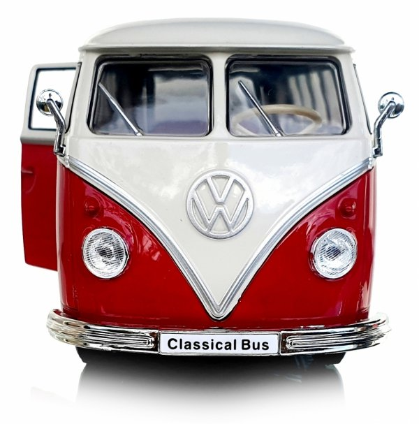 1963 VOLKSWAGEN T1 BUS Auto METALOWY MODEL Welly 1:24