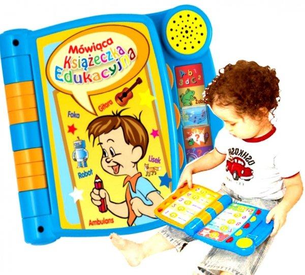 MÓWIĄCA Książeczka EDUKACYJNA Interaktywna Smily