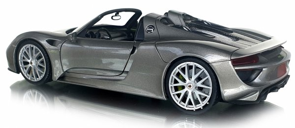PORSCHE 918 SPYDER Auto METALOWY MODEL Welly 1:24