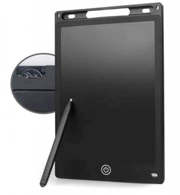 GRAFICZNY TABLET do Pisania RYSOWANIA 8,5 Notatnik LCD Czarny