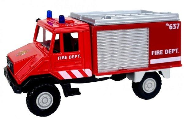 METALOWE Auto URBAN SPIRIT Straż Pożarna Model Welly