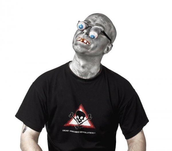 Okuary WYCHODZĄCE GAŁY Maska Halloween STRÓJ