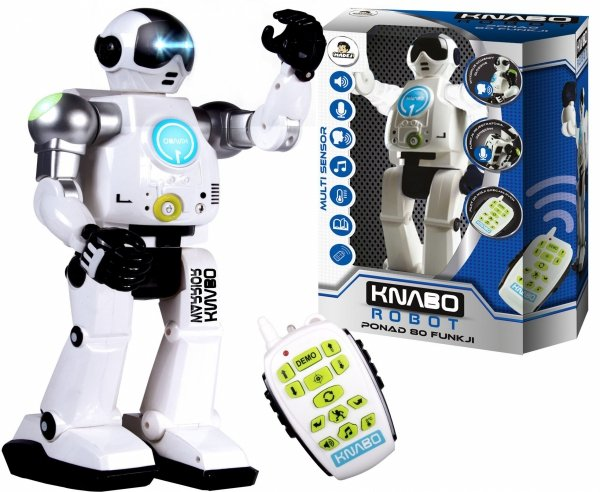 Robot KNABO WARRIOR 80 Funkcji CHODZI MÓWI NAGRYWA