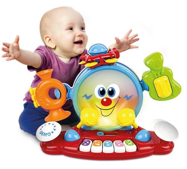 Smily Play DZIECIĘCA KAPELA Pianinko 5w1 2087