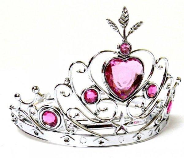 KORONA KOLCZYKI RÓŻDŻKA Zestaw Księżniczki PRINCESS