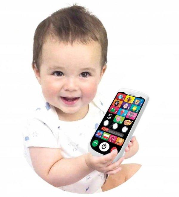 Smartfon EDUKACYJNY Smily Play Dotykowy PL/ANG SP83457