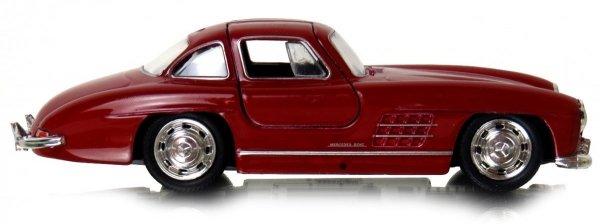 MERCEDES-BENZ 300SL METALOWY Model 1:34 Welly