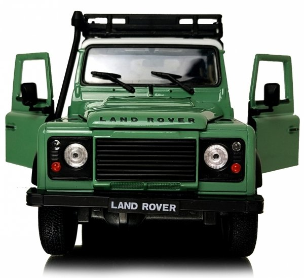 LAND ROVER DEFENDER Auto Metalowy Model WELLY 1:24