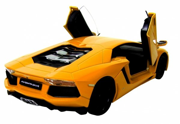 LAMBORGHINI AVENTADOR COUPE Auto Metal Welly 1:24