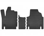 Dywaniki gumowe czarne CITROEN JUMPY 1994-2006 | FIAT SCUDO 1996-2006 | PEUGEOT Expert 1995-2006