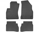 Dywaniki gumowe czarne FIAT Doblo II od 2008 | OPEL Combo D od 2011 wersja 5-osobowa