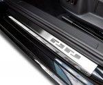 FORD C-MAX 2003-2010 / FOCUS II 5D 2005-2010 / KUGA 2008-2012 Nakładki progowe - stal [ 4szt ]