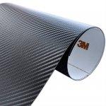 Folia Carbon Czarny 3M CA421 122x200cm
