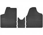 Dywaniki gumowe czarne CITROEN JUMPY od 2007 | FIAT SCUDO od 2006 | PEUGEOT Expert od 2006 | TOYOTA ProAce od 2013