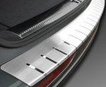 VW PASSAT B7 4D SEDAN od 2010 Nakładka na zderzak z zagięciem (stal)