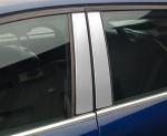 SUZUKI SX 4 5D HATCHBACK FL od 2010 Nakładki na słupki drzwi (aluminium) [ 4szt ]