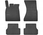 Dywaniki gumowe czarne AUDI A6 C7 2011-2018 | AUDI A7 Sportback 2010-2017