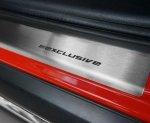 SEAT MII 5D HATCHBACK od 2013 Nakładki progowe STANDARD mat 4szt