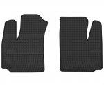 Dywaniki gumowe czarne FIAT Doblo I wersja 2-osobowa 2001-2008