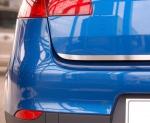 SKODA OCTAVIA II KOMBI FL od 2009 Listwa na klapę bagażnika (matowa)