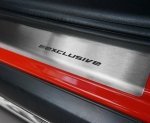 SEAT IBIZA III 3D HATCHBACK 2002-2008 Nakładki progowe STANDARD mat 2szt