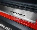 RENAULT CLIO III 3D HATCHBACK 2005-2012 Nakładki progowe STANDARD mat 2szt