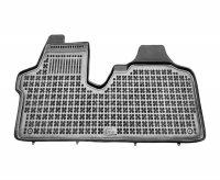 Dywaniki korytka gumowe Citroen Jumpy II / Fiat Scudo II / Peugeot Expert II 2007-2016 / Toyota ProAce od 2013 wersja samochodu bez wykładziny welurowej na podłodze