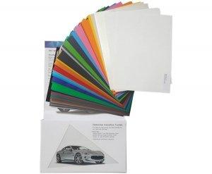 Wzornik folii 1080 - 82 kolory