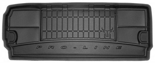 Mata bagażnika gumowa NISSAN Pathfinder III od 2005 wersja 7 osobowa (rozłożony 3 rząd siedzeń) -