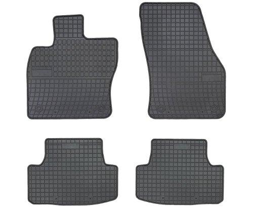 Dywaniki gumowe czarne SEAT ATECA od 2016 / SKODA Karoq od 2017