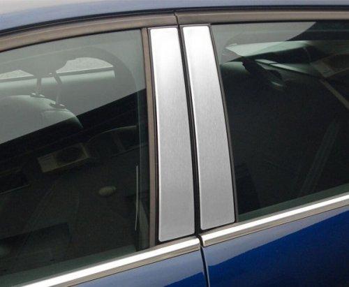 TOYOTA AURIS II 5D HATCHBACK   KOMBI od 2013 Nakładki na słupki drzwi (aluminium) [ 6szt ]
